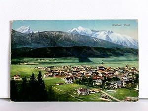 AK Wattens, Tirol; K.u.K. Zensurstempel; Feldpost 1916