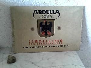 Sammelalbum der Staatswappen aller wappenführenden Staaten der: Abdulla Superb Cigarettes