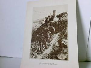 Berühmte deutsche Burgen und Schlösser. Nach Original-Federzeichnungen: Lindegreen, Karl und