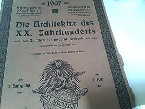 Die Architektur des XX. (20.) Jahrhunderts -: Licht, Hugo (Hrsg.):