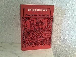 Strafjustiz in alter Zeit - Band III: Mittelalterliches Kriminalmuseum, Rothenburg