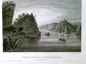 Grand Tower and Devils Bakeoven (Mississippi River),