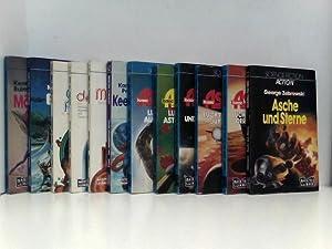 Konvolut 12 Science-Fiction Romane - George Zebrowski,: verschiedene: