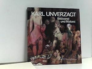 Karl Unverzagt. Bildwand und Malerei.: Faschon, Susanne: