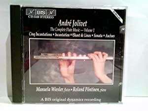 Die Musik für Flöte Vol. 1: Wiesler, Manuela, Roland