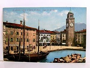 Schöne, seltene AK La piazza e Torre