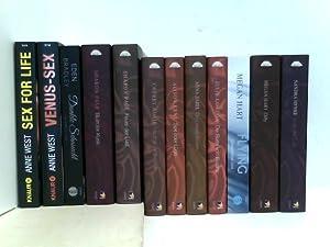 Konvolut von 12 Erotik Romanen - Anne: verschiedene: