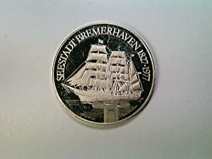 Medaille Seestadt Bremerhaven 1827-1977, wohl Silber