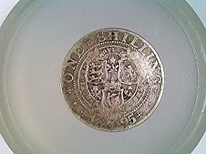 Münze England one Shilling 1895