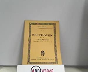 String Quartet (No. 4) : C -: Beethoven, Ludwig van: