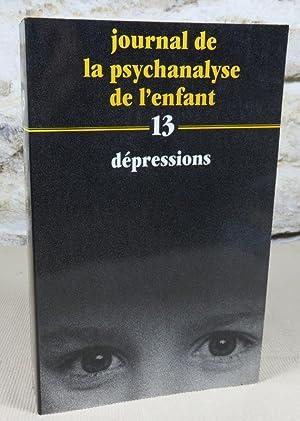 Journal de la psychanalyse de l'enfant 13,: Collectif