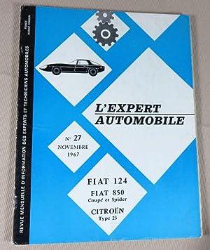 L'expert automobile n° 27 : Fiat 124.: L'expert automobile.