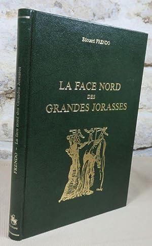 La face nord des Grandes Jorasses.: FRENDO Edouard