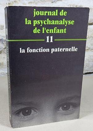 Journal de la psychanalyse de l'enfant 11.: Collectif