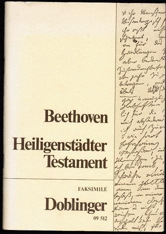 Heiligenstädter Testament - Faksimile-Ausgabe: Beethoven, Ludwig van: