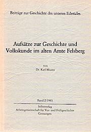 Aufsätze zur Geschichte und Volkskunde im alten: Muster, Karl: