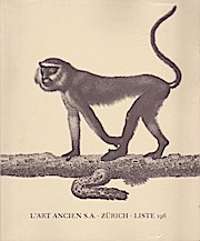 Liste 196. Aesop bis Zaeslin. Bücher aus: L`Art Ancien S.A.