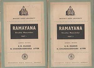 Ramayana; 2 Vol. General Editors K.M. Mushi,: Mazumdar, Shudha: