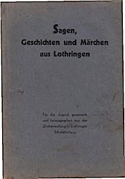Sagen Aus Lothringen Used Abebooks
