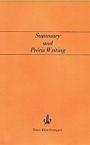 Summary and Precis Writing.: Bongartz, Joseph: