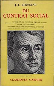 Du contrat social ou principes du droit: Rousseau, Jean-Jacques: