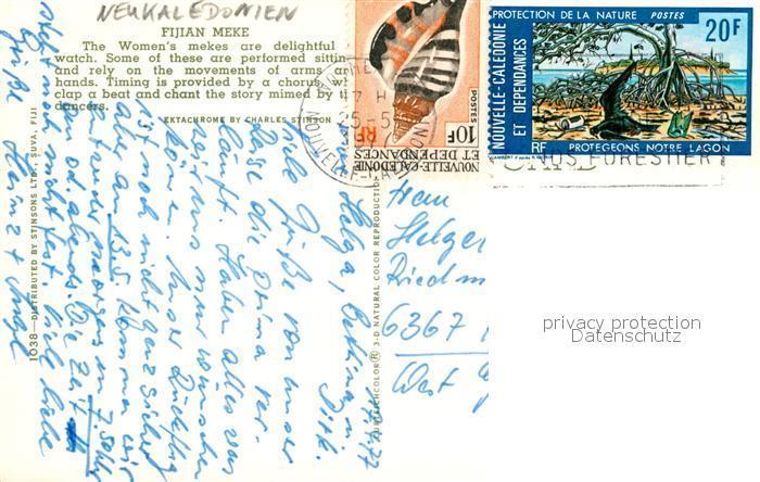 Postkarte Carte Postale Noumea