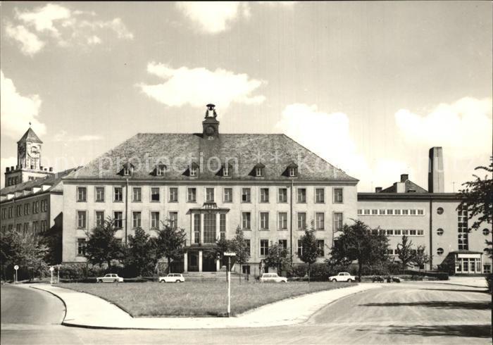 Postkarte Carte Postale Dresden Technische Universität