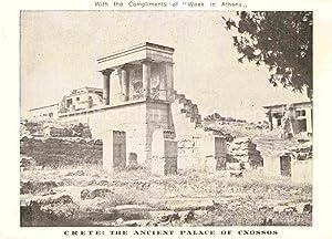 Postkarte Carte Postale Crete Kreta The ancient