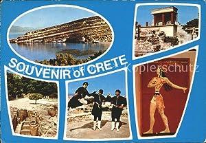 Postkarte Carte Postale Crete Kreta Küste Palast
