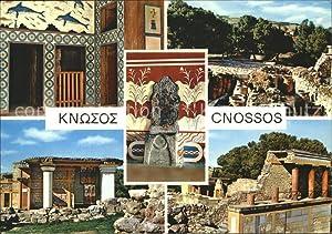 Postkarte Carte Postale Cnossos Kreta Palast Tempel