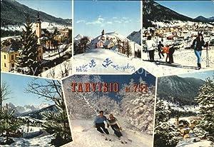 Postkarte Carte Postale Tarvisio Centro Sports invernali