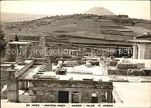 Postkarte Carte Postale Knossos Cnosse Kreta Palace
