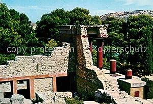 Postkarte Carte Postale Knossos Cnosse Kreta Nordeingang