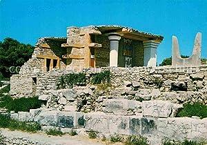 Postkarte Carte Postale Knossos Cnosse Kreta Die