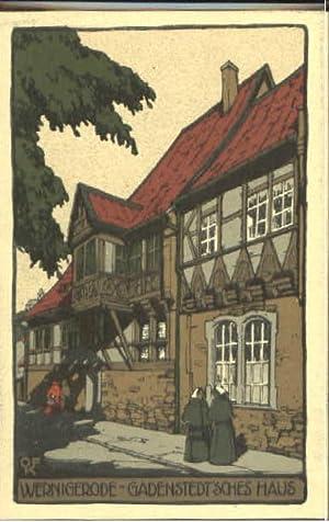 Postkarte Carte Postale 40281734 Wernigerode Harz ...