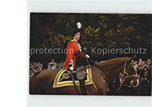 Postkarte Carte Postale 12221097 Adel England Queen Elizabeth II. London Horse-Guards Adel England