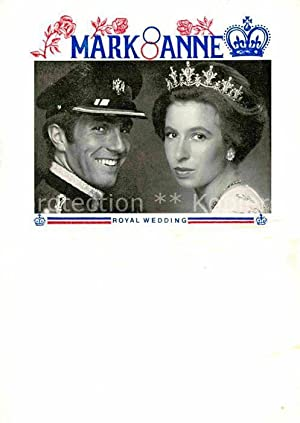 Postkarte Carte Postale 72803928 Adel England Royal Wedding Princess Anne and Mark Phillips Koeni...