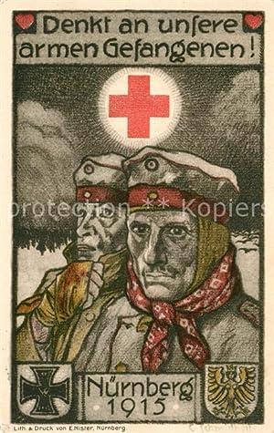 postkarte carte postale 33549727 nuernberg offizielle postkarte ortssammelkomitee rotes kreuz
