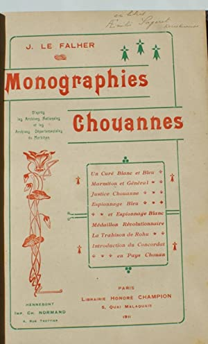 Monographies chouannes