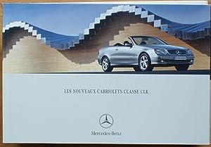 Les nouveaux cabriolets Classe CLK