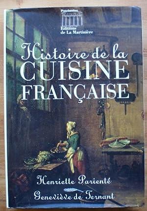 Histoire de la cuisine française: Henriette Parienté, Geneviève