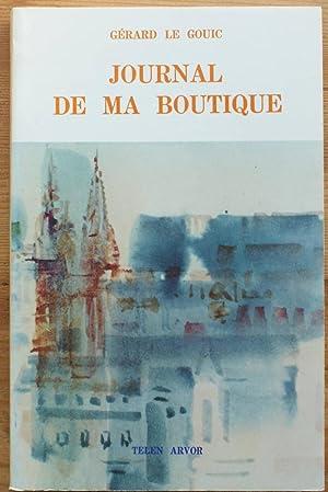 Journal de ma boutique: Gérard le Gouic