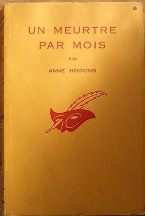 Un meurtre par mois: Anne Hocking