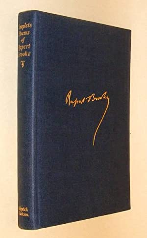 THE COMPLETE POEMS OF RUPERT BROOKE: Brooke, Rupert