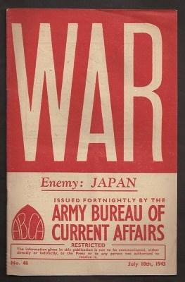 WAR : issue 48 : July 10th, 1943 : [News Facts for Fighting Men]: Wingate, Brigadier O. C., DSO, et...