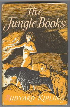 THE JUNGLE BOOKS (The Jungle Book and: Kipling, Rudyard (illustrated