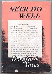 NE'ER-DO-WELL: Yates, Dornford