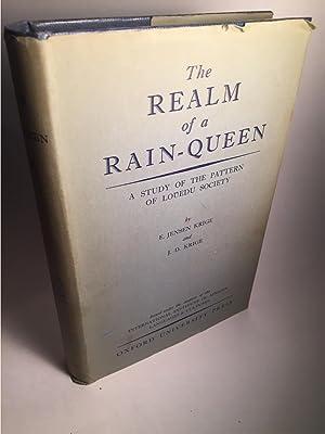THE REALM OF A RAIN-QUEEN, A STUDY: Krige, E. Jensen
