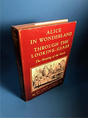 ALICE'S ADVENTURES IN WONDERLAND THROUGH THE LOOKING-GLASS: Carroll, Lewis