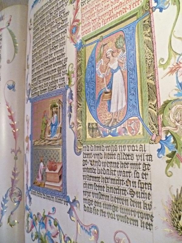 Die Wenzelsbibel. La bible de Wenzel ou Venceslas Die Alteste Deutsche Prachthandschrift der Bibel....